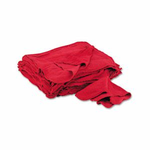 General Supply Red Shop Towels, Cloth, 14 x 15, 50 Towels (UFSN900RST)