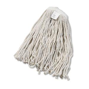 Boardwalk Standard #20 Cotton Cut-End Wet Mop Heads, 12 Mop Heads (BWK2020CCT)