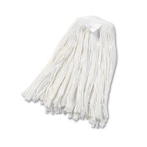 Boardwalk Rayon Cut-End Wet Mop Heads, #20 Size, 12/Carton (BWK2020RCT)