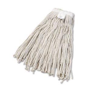 Unisan Cut-End Wet Mop Head, Cotton, #24 Size, White (UNS2024C)