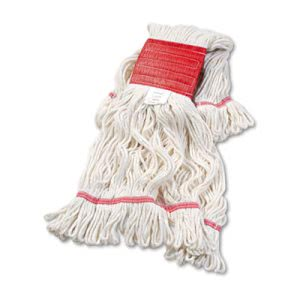 Boardwalk Large Super Loop Yarn Mop Head, White, 12 Mop Heads (BWK503WHCT)