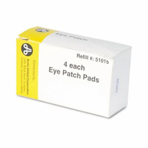 "Physicianscare Emergency First Aid Eye Patch, Box of 4, 2"" x 3"" (ACM51015)"