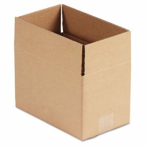 Corrugated Shipping Carton, 6w x 10l x 6h, Brown, 25 per Bundle (UFS1066)