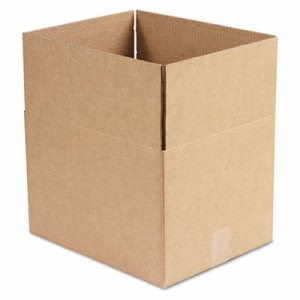 Corrugated Kraft Shipping Carton, 12w x 15l x 10h, Brown, 25/Bundle (UNV166183)