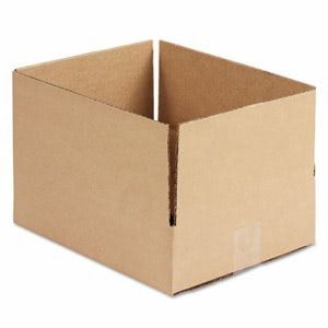 Universal Corrugated Kraft  Shipping Carton, Brown, 25 per Bundle (UNV166534)