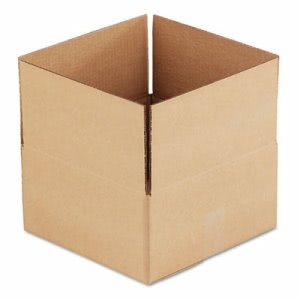 Brown Corrugated Fixed Depth Boxes, 12l x 12w x 6h, 25 Boxes (UFS12126)