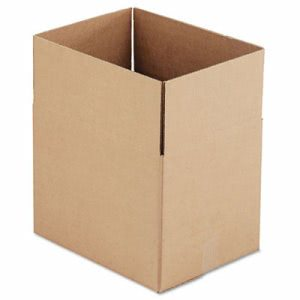 Corrugated Kraft Shipping Carton, 12w x 16l x 12h, Brown, 25/Bundle (UNV167026)