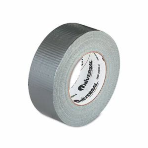 "Universal General Purpose Duct Tape, 2"" x 60 yards, Gray (UNV20048G)"
