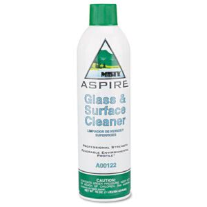 Misty Aspire Glass & Surface Cleaner, 12 Cans (AMRA12220)