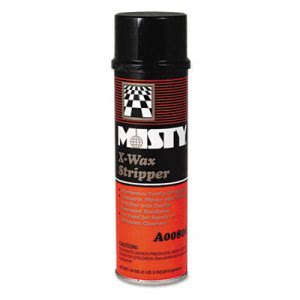 Misty X-Wax Floor Stripper, 18-oz Aerosol, 12 Cans (AMR1033962)