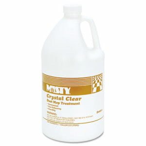Misty Crystal Clear Dust Mop Treatment, 4 Gallon Size Bottles (AMR R811-4)