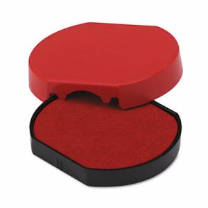 U. S. Stamp & Sign Trodat T46140 Dater Replacement Pad, 1 5/8, Red (USSP46140RD)