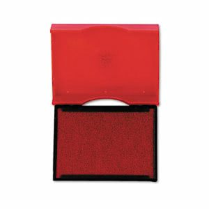 U. S. Stamp & Sign Trodat Stamp Replacement Pad, 1 x 1 5/8, Red (USSP4750RD)