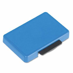 U. S. Stamp & Sign T5440 Dater Replacement Ink Pad, 1 1/8 x 2, Blue (USSP5440BL)