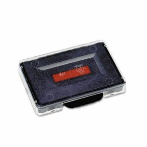U. S. Stamp & Sign Trodat T5460 Dater Replacement Ink Pad, 1 3/8 x 2 3/8, Red/Blue (USSP5460BR)