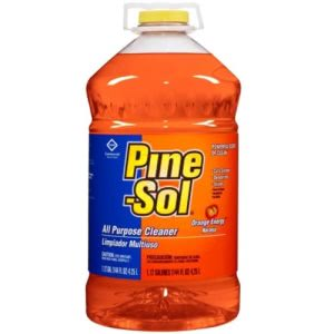 Pine-sol All-Purpose Cleaner, Orange Scent, 144oz  Bottle, 3/CT (CLO41772CT)