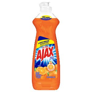 Ajax Dish Detergent, Orange Scent,14 oz, 20 Bottles (CPC44633)
