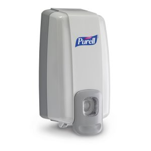 Purell NXT Space Saver 1000 mL Hand Sanitizer Dispenser, White (GOJ212006)