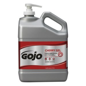 Gojo Cherry Gel Pumice Hand Cleaner, Cherry, 1 gal (GOJ235802)