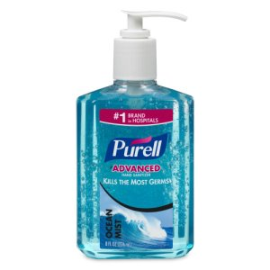 Purell Ocean Mist Instant Hand Sanitizer, 8-oz. Pump Bottle (GOJ301212)