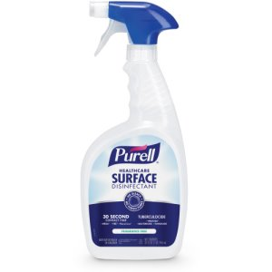 Purell Healthcare Surface Disinfectant, Fragrance Free, 12 Bottles (GOJ334012)