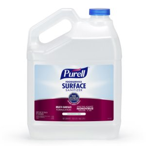 Purell Foodservice Surface Sanitizer, Fragrance Free, 4 Gallons (GOJ434104)