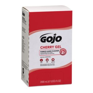 Gojo Cherry Gel Pumice Hand Cleaner, 2000ml, 4 Refills (GOJ729004)