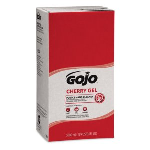 Gojo Cherry Gel Pumice Hand Cleaner, 2 - 5,000-ml Refills (GOJ759002)