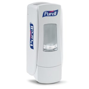 Purell ADX-7 Hand Sanitizer 700 mL Dispenser, White (GOJ872006)
