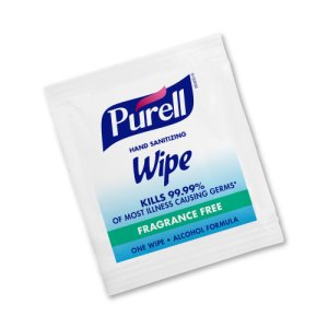 Purell Individually Wrapped Hand Sanitizer Wipes, 1000 Wipes (GOJ90211M)