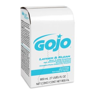 Gojo Body & Hair Shampoo Refill, Pleasantly Scented, 800 ml (GOJ912612)