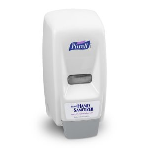 Purell Bag-In-Box 800ml Hand Sanitizer Dispenser, White/Gray (GOJ962112)