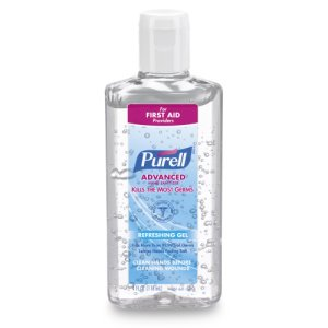 Purell 965124 Advanced Instant Hand Sanitizer, 24 Flip-Cap Bottles (GOJ965124)