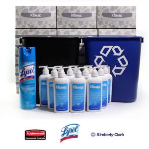 CleanItSupply Office Essentials Complete Kit, 1 Bundle (KRR-ESS-BDL1)