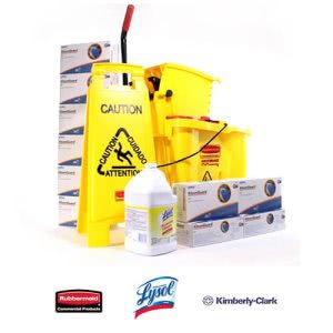 CleanItSupply Floor Cleaning Kit (KRR-MOP-BDL1)