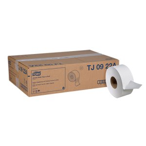 "Tork Universal Mini Jumbo Roll Tissue - 3.55"" X 1000' 2 Ply (12/1000), 12/Case (FOR-4040)"