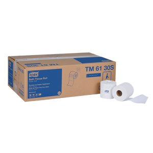 Tork Advanced Bath Tissue, 2-Ply, White, 500 Sheets/Roll, 48 Rolls (TRKTM6130S)