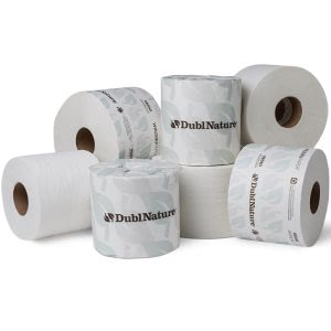 Dubl-Nature Green Seal 2-Ply Standard Bathroom Tissue, 48 Rolls (WAU 59490)