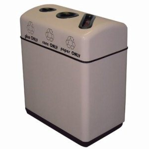 Witt 36 Gallon Fiberglass Recycling Container (WITT-11RR-361631)