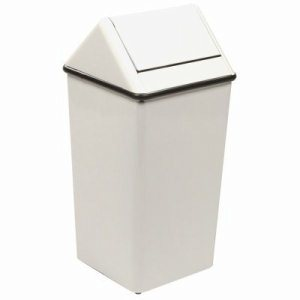 13 Gallon Slate Swingtop Kitchen Trash Can (WITT-1311HTSL)