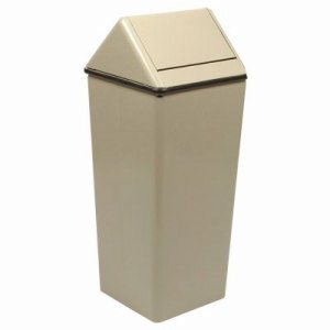 21 Gallon Kitchen Swingtop Trash Can, Slate (WITT-1411HTSL)
