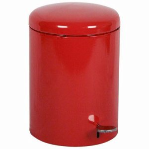 4 Gallon Step-on Receptacle, Red (WITT-2240RD)