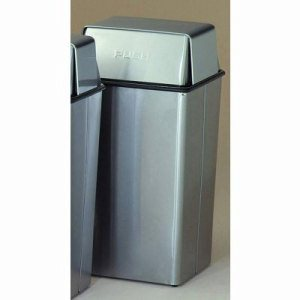 Witt 36 gal. Stainless Steel Pushtop - Monarch Series (WITT-36HTSS)