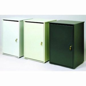 Witt 36 gal. Putty Platinum Secure Document Conatiner - Confidential Waste Containers (WITT-36PSS-PT)