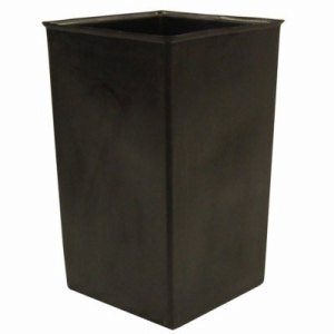 Witt 36 Gallon Trash Can Liner, Plastic, Black (WITT-36R)