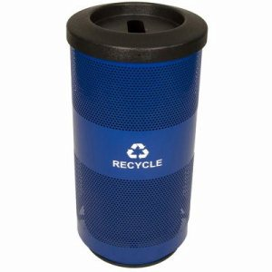 20 Gallon Recycling Unit, Stadium Series, Post Office Blue (WITT-SC20-01-RP-BL)