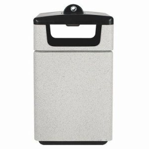 Witt 45 Gallon Smoking Urn, Whitestone (WITT-SLC-2744STDHAB-WH)