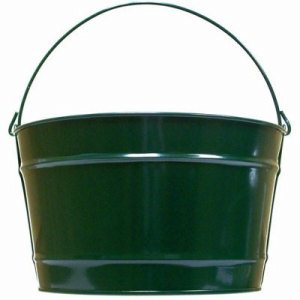 Witt 16 qt. Hunter Green Pail - Decorative Pail (WITT-W16PCHG)