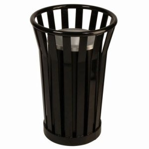 Witt Black Steel Ash Urn (WITT-WC2000-BK)