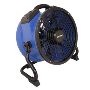 XPOWER X-35AR High Temperature Axial Air Mover, Power Outlets, 1 Each (X-35AR)